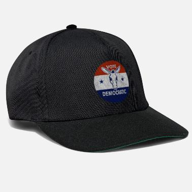 Democraat Stem Democratische Vintage democraat - Snapback cap