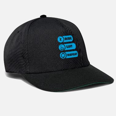 Winter Vacation Skiing winter vacation - Snapback Cap