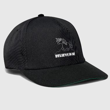 Eventing Believe in Me unicorn - Snapback Cap