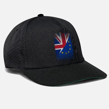 Demo Europe United Kingdom flag gift cohesion - Snapback Cap