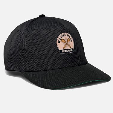 Disobey Wood Spoon Survivor Award Badge - Snapback Cap