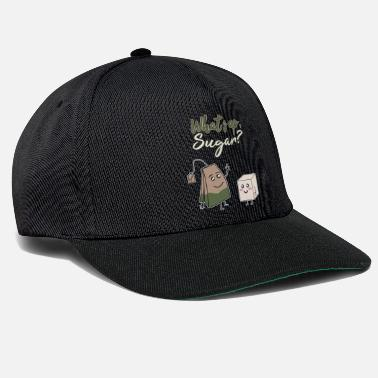 Far Hilarious & cute Tea and sugar with good graphics - Snapback Cap