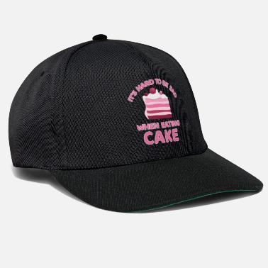 Sad Cake Cupcake Cheesecake Cookie Muffin Candy Gift - Snapback Cap