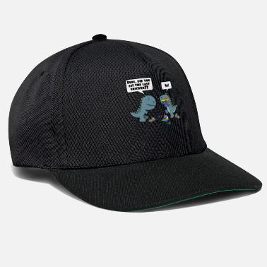 The Dude Did You Eat The Last Unicorn Dinosaur - Snapback Cap
