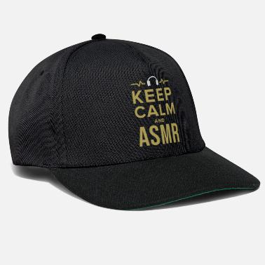 Chill ASMR Relaxe Relaxeation Whisperer Tingle Gift - Snapback Cap