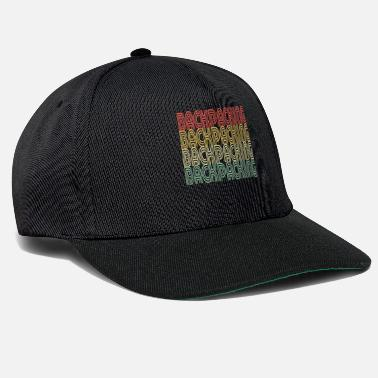 Figur Backpacking Distressed Design - Snapback Cap