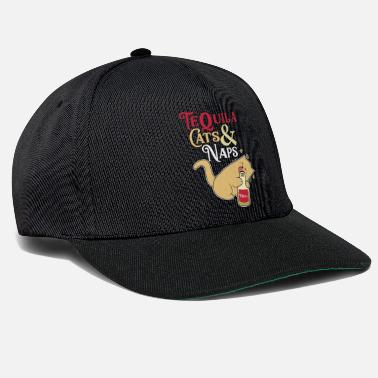 Slapen Tequila Cats and Naps - Snapback cap