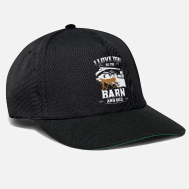 Cowboy I Love You To The Barn And Back Horse Lover Rider - Snapback Cap