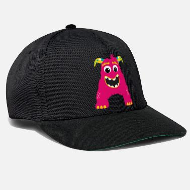 Alfabet Monster ABC A - Snapback cap