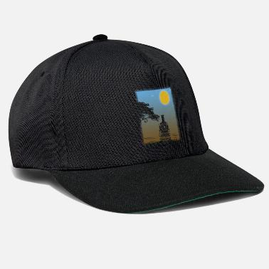 Locomotive Train Sunset Gift Christmas Birthday Kids - Snapback Cap
