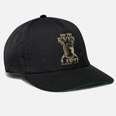 Matt Do You Even Lift Schach Chess Geschenk - Snapback Cap