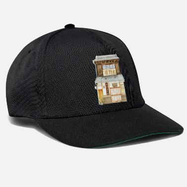 Download Japanese house with shop - Snapback Cap