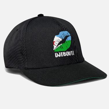 Kissing Lips DJI Djibouti Kiss Lips -paita - Snapback Cap