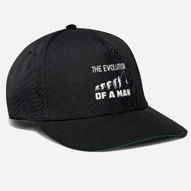 Hamburg the evolution of a man - Snapback Cap