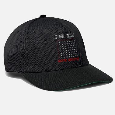 School Math teacher student mathematician - Snapback Cap