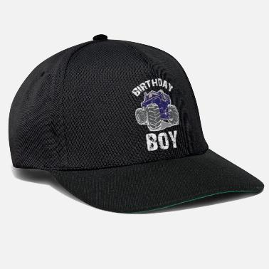Birthday Boy Monster Monster Truck Birthday Boy, Boys Birthday - Snapback Cap