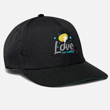 Clean What It Is Car wash hobby love affection sponge washing - Snapback Cap