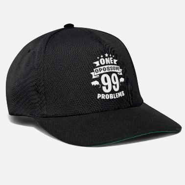 Buidelrat One Opossum 99 Problems - Snapback Cap