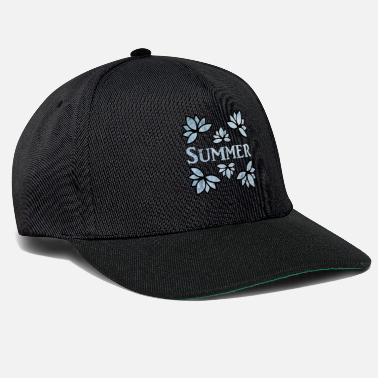 Artist Summer Flowers Ice - Beautiful Motives - Snapback Cap