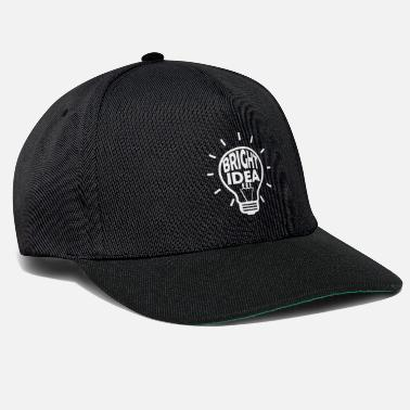 Idea Brillante Idea brillante - Lampadina - Idea - Cappello snapback