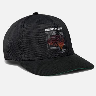 Sensor Engineer Brain Funny - Snapback Cap