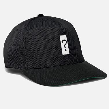 Exclamation Questionmark - Snapback Cap