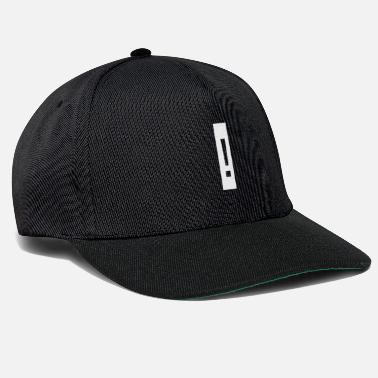 Exclamation Exclamation mark, exclamation mark - Snapback Cap