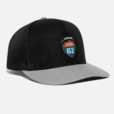 Bday Cadeau d'anniversaire Vintage Made In 62 Sport 1962 - Casquette snapback
