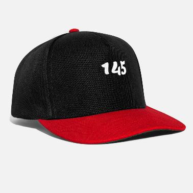 Age One Hundred Forty Five 145, 145, nombre, 145, cent - Snapback Cap