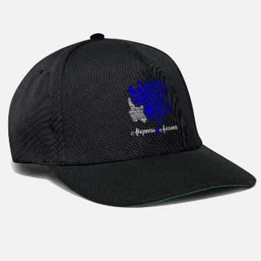 Alopecia Awareness Strong Woman With Butterflies - Snapback Cap