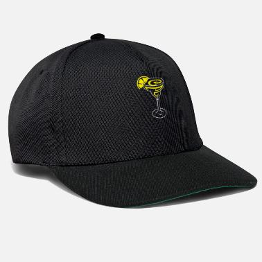 Margarita Lemon Cocktail Design voor Tequila-fans - Snapback cap