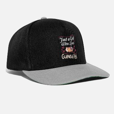 Cage Guinea Pig Guinea PIgs Lover just a Girl who - Snapback Cap