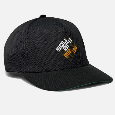 Squaremeat Orange - Snapback Cap