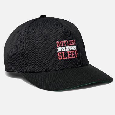db71a4a7de1 Minion Butlers never sleep gift butler never sleep - Snapback Cap