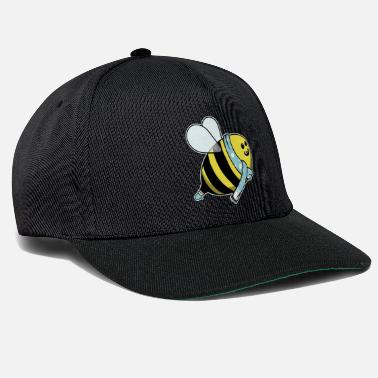 Dyrebarn Animal child bee hule jul vinter gave - Snapback Cap