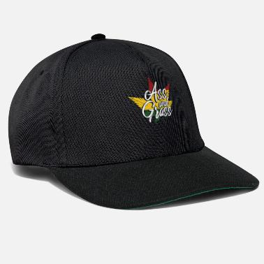 Weed Ass And Grass - Snapback Cap