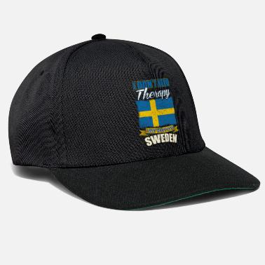Stockholm I do not need therapy, only Sweden - Snapback Cap