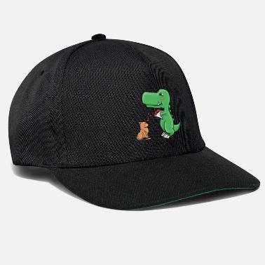 Blume Cat and dino - Snapback Cap