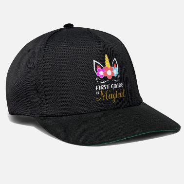 First Unicorn First Grade Gift - Snapback Cap