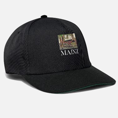 Mainz Mainz city skyline Germany art - Snapback Cap