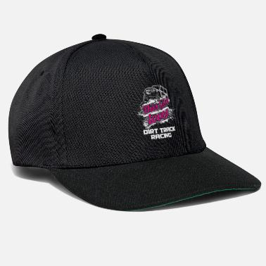 Race Track This Girl Loves Dirt Track Racing Racer Motor - Snapback Cap