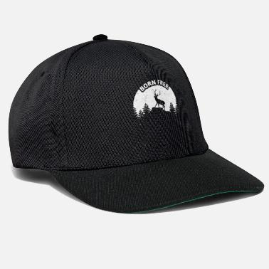 Wild Deer Deer in the wild - Snapback Cap