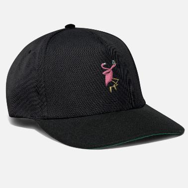 Beach Volley Cadeau de volleyball de plage Flamingo I joueur de volleyball - Casquette snapback