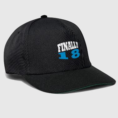 Enfin 18 - Casquette snapback