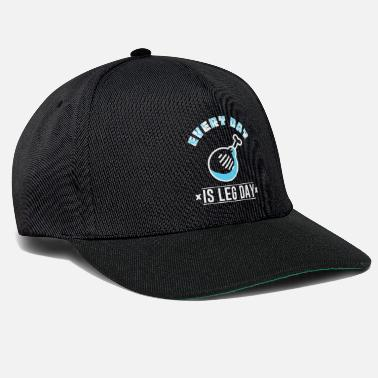 Every-day EVERY DAY IS LEG DAY - Snapback Cap