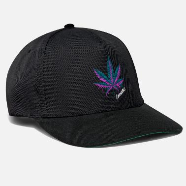 Weed Cannabis Leaf Cannabis Grass Weed Gift - Snapback Cap