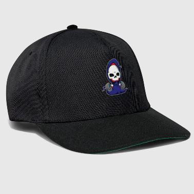 Gym Reaper Deadlift Fitness Workout Gift Gift - Snapback Cap