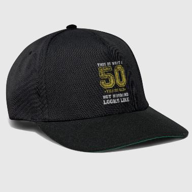 50 years old shirt gift - Snapback Cap