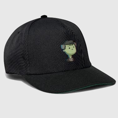 Cute Kawaii Frankenstein's Monster Halloween - Snapback Cap