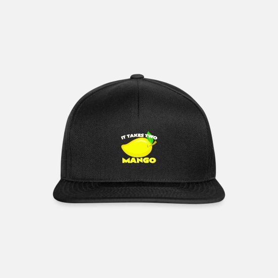 Funny Sayings Caps & Hats - mango - Snapback Cap black/black
